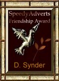 Friendship Award From Speedy Adverts AP. Jesmond